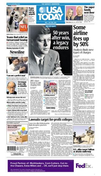 09/27/2010 Issue of USA TODAY