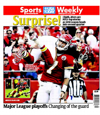 10/06/2010 Issue of Sports Weekly