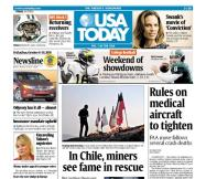 10/08/2010 Issue of USA TODAY