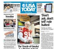 10/20/2010 Issue of USA TODAY