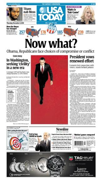 11/04/2010 Issue of USA TODAY