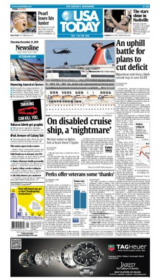 11/11/2010 Issue of USA TODAY