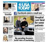 11/16/2010 Issue of USA TODAY