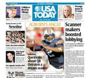 11/23/2010 Issue of USA TODAY