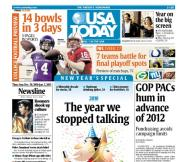 12/30/2010 Issue of USA TODAY