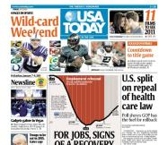 01/07/2011 Issue of USA TODAY