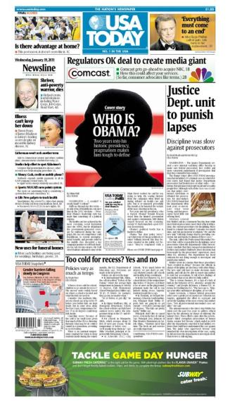 01/19/2011 Issue of USA TODAY