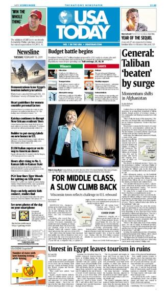 02/15/2011 Issue of USA TODAY