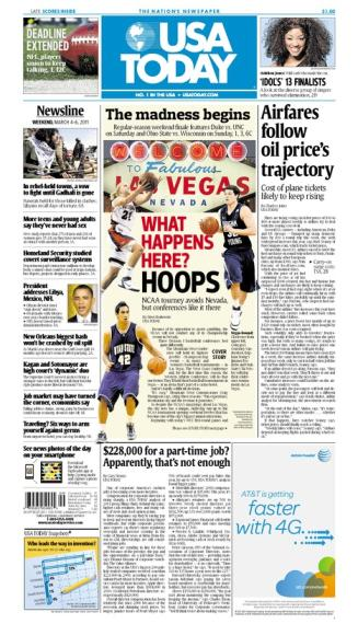 03/04/2011 Issue of USA TODAY