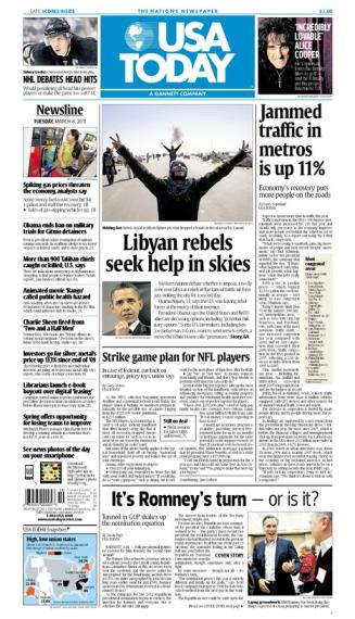 03/08/2011 Issue of USA TODAY