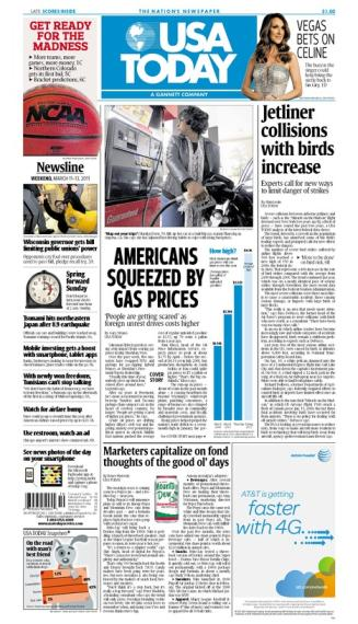 03/11/2011 Issue of USA TODAY