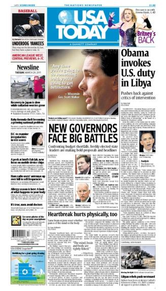 03/29/2011 Issue of USA TODAY