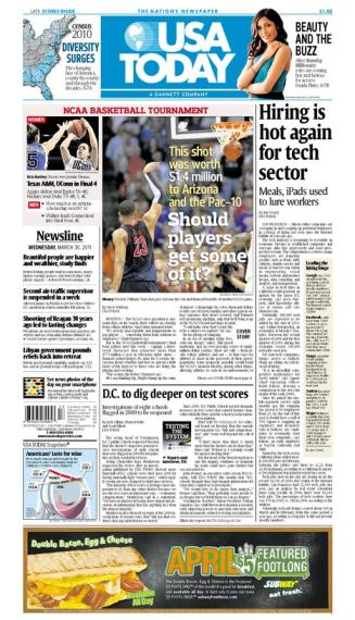 03/30/2011 Issue of USA TODAY