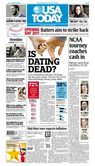 03/31/2011 Issue of USA TODAY
