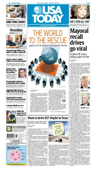 04/12/2011 Issue of USA TODAY