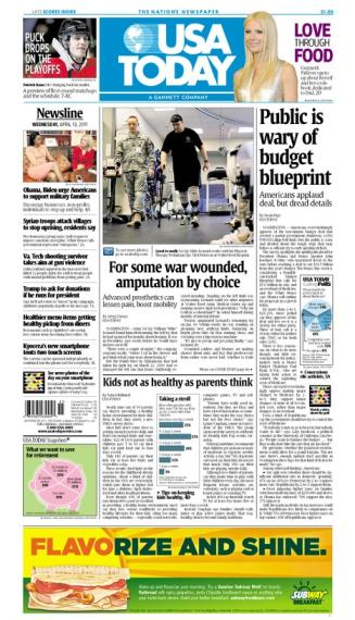 04/13/2011 Issue of USA TODAY