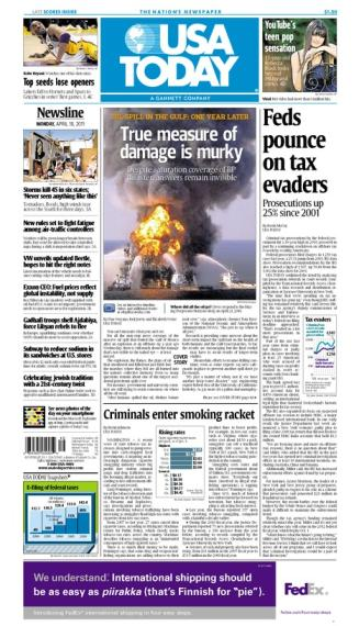 04/18/2011 Issue of USA TODAY