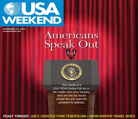 11/02/2012 Issue of USA Weekend