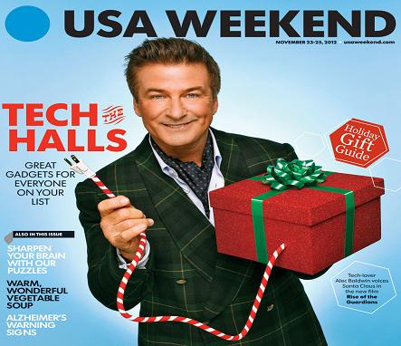 11/23/2012 Issue of USA Weekend