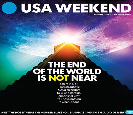 12/07/2012 Issue of USA Weekend