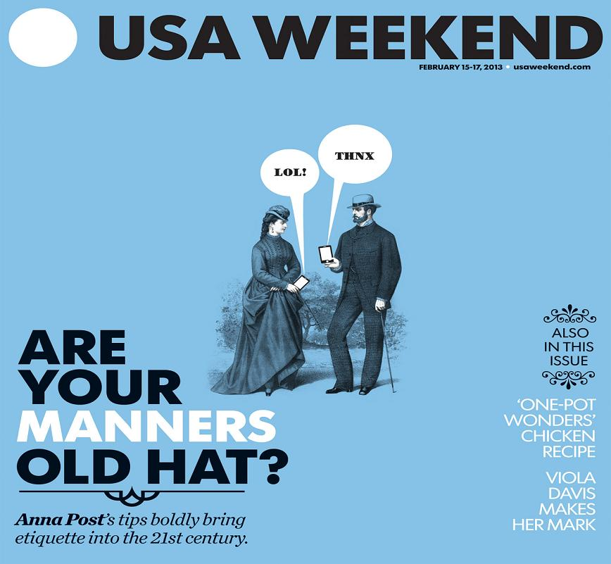 02/15/2013 Issue of USA Weekend