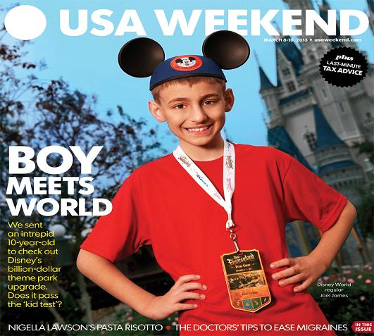 03/08/2013 Issue of USA Weekend
