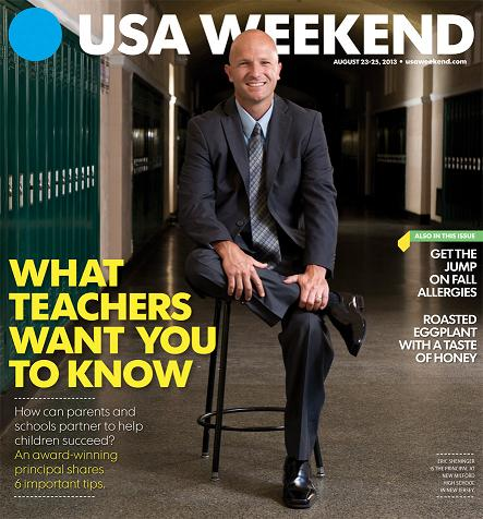 08/23/2013 Issue of USA Weekend