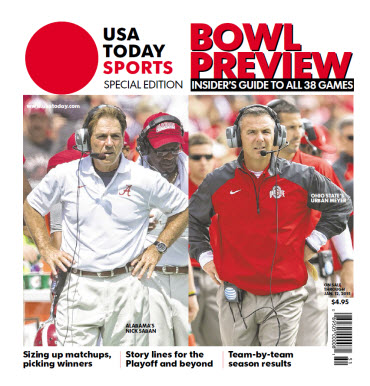 2014 College Bowl Preview Special Edition - Alabama - Ohio State Cover