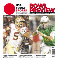 2014 College Bowl Preview Special Edition - Florida State - Oregon Cover