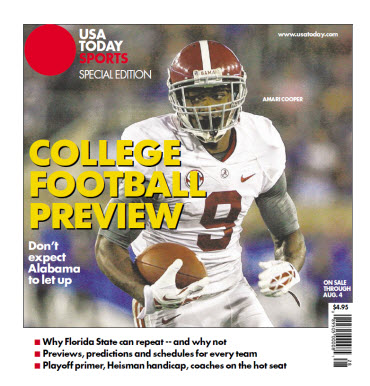 collage football today covers college football scores