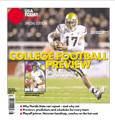 College Football Preview Special Edition - PAC 12 Cover