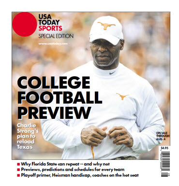 College Football Preview Special Edition - Texas Cover