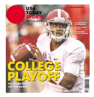 College Playoff Special Edition - Alabama Cover