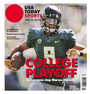 College Playoff Special Edition - Oregon Cover