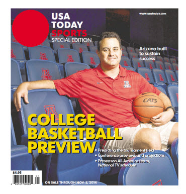 College Basketball - 2014 Special Edition - Arizona Cover
