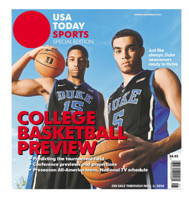 College Basketball - 2014 Special Edition - Duke Cover