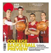 College Basketball - 2014 Special Edition - Wisconsin Cover