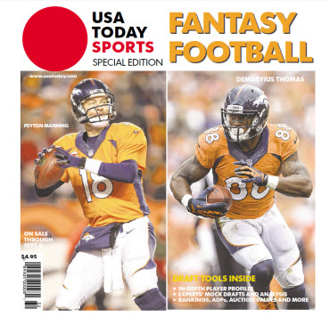 USA TODAY 2014 Fantasy Football Guide Special Edition - Broncos