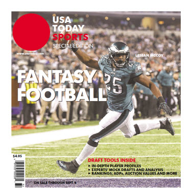 USA TODAY 2014 Fantasy Football Guide Special Edition - Eagles