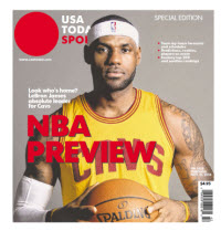 NBA Preview 2014 - Special Edition - Cleveland Cavaliers Cover