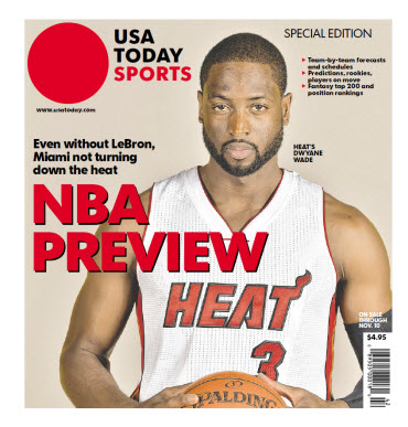 NBA Preview 2014 - Special Edition - Miami Heat Cover