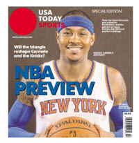 NBA Preview 2014 - Special Edition - New York Knicks Cover