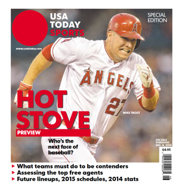 2014 Baseball Hot Stove Preview  Special Edition - Angels Cover