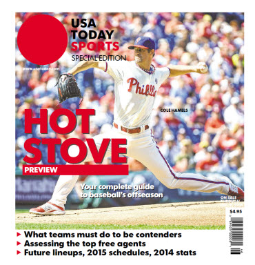 2014 Baseball Hot Stove Preview  Special Edition - Phillies Cover