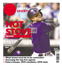 2014 Baseball Hot Stove Preview  Special Edition - Rockies Cover