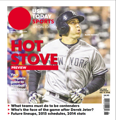 2014 Baseball Hot Stove Preview  Special Edition - Yankees Cover