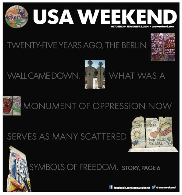 10/31/2014 Issue of USA Weekend