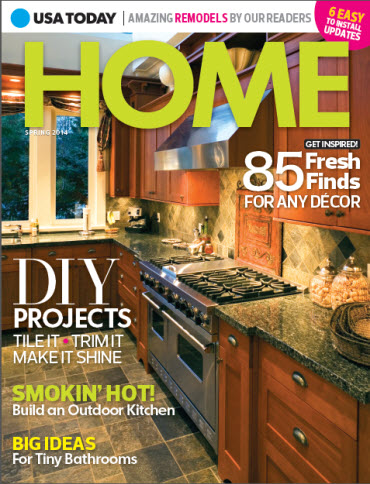 Home Magazines Usa usa today home - spring 2014 – usa today online store