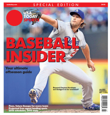 2015 Baseball Insider Special Edition - Dodgers Cover