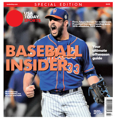 2015 Baseball Insider Special Edition - Mets Cover